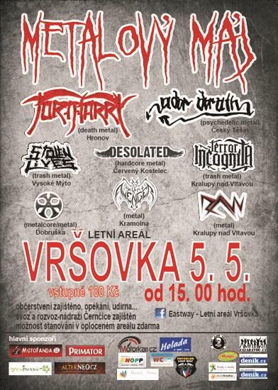 festival METALOVÝ MÁJ